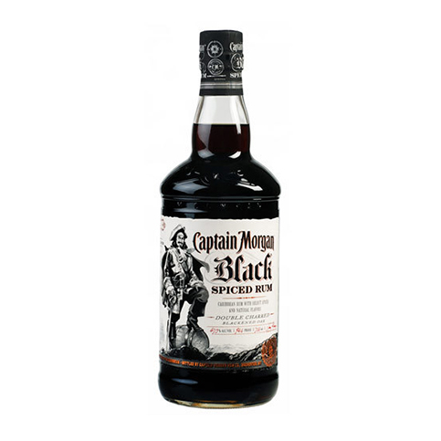 Captain Morgan Black Original Rum Image