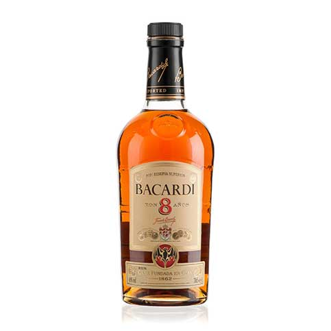 Bacardi 8 Year Old Image