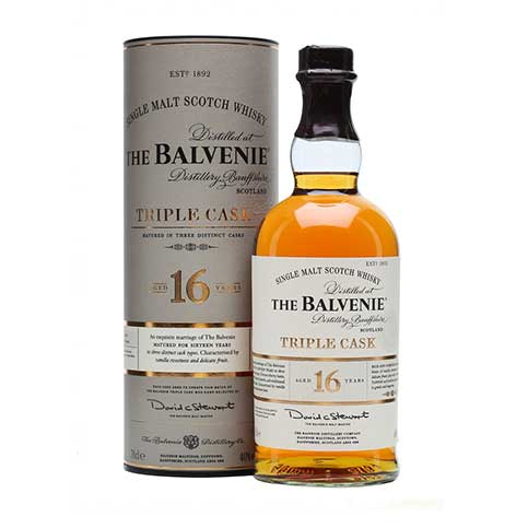 Balvenie 16 Year Old Triple Cask Image