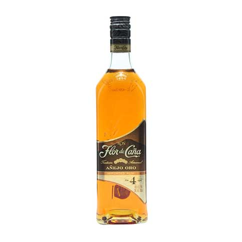 Flor De Cana 4 Year Old Gold Image